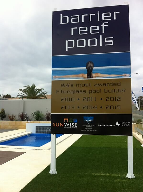 Castlestone is on display at Joondalup with Barrier Reef & Factory Pools