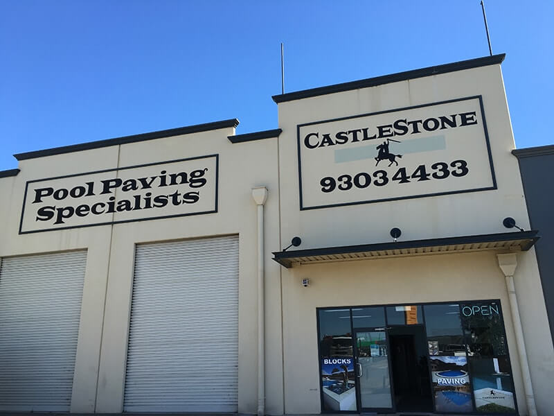 Castlestone's Wangara Showroom & Factory on Gnangara Road